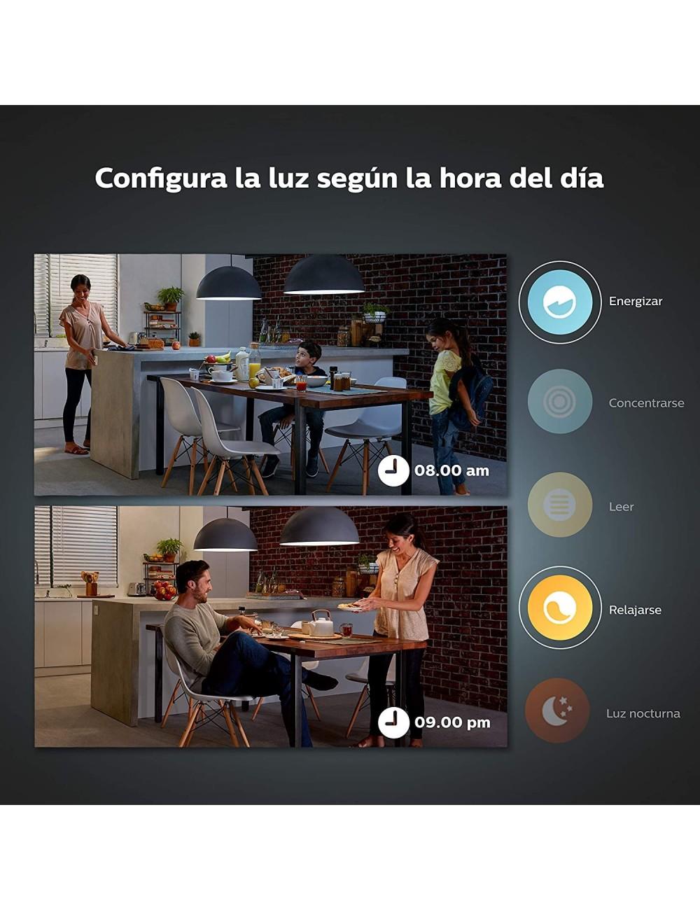 Philips Hue Enchufe Smart Plug con Bluetooth y Compatible con Alexa y Google Home Philips Hue Interruptor Smart Button con Bluetooth Compatible con Alexa y Google Home