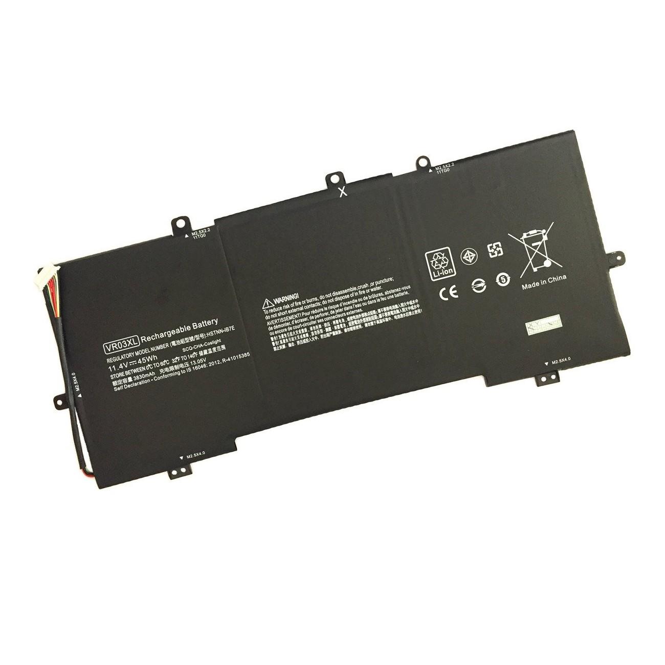 7XINbox 11.4V 45Wh 3950mAh VR03XL Repuesto Batería para HP Envy