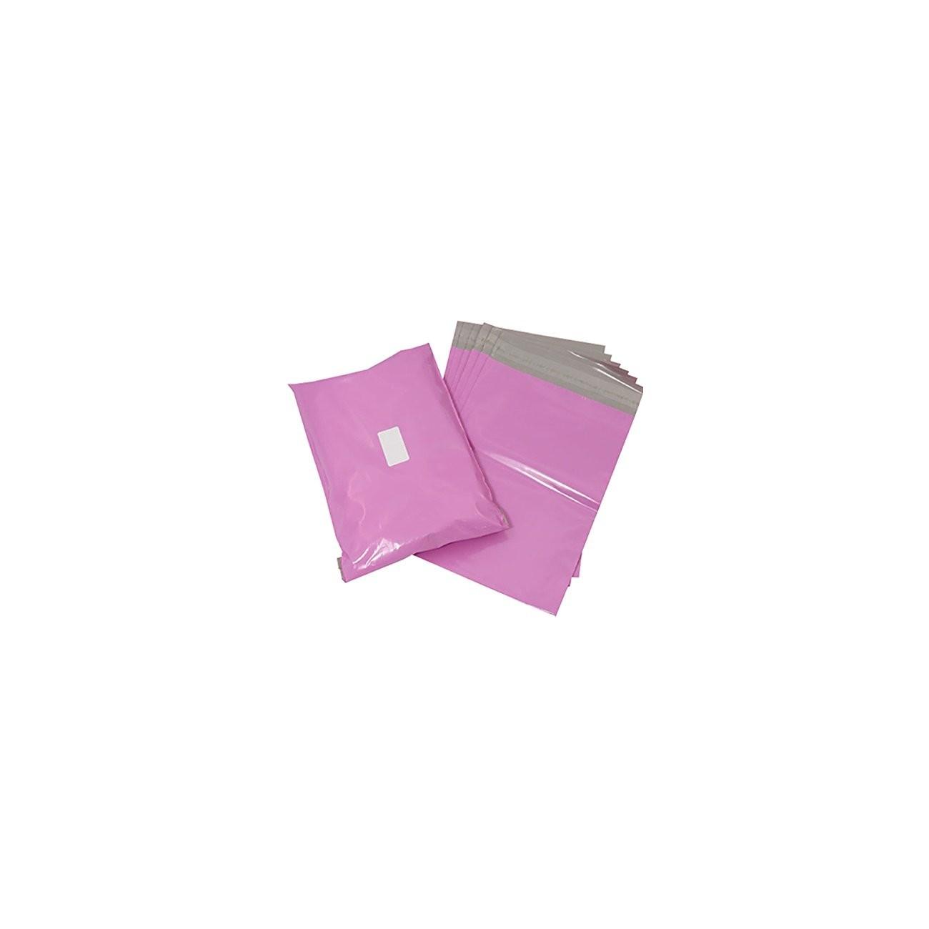 Triplast - Bolsa de plástico para envíos postales, color rosa