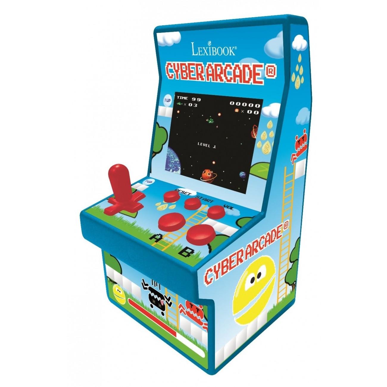 LEXIBOOK JL2940 Lexibook - Consola Cyber Arcade, 200 Juegos
