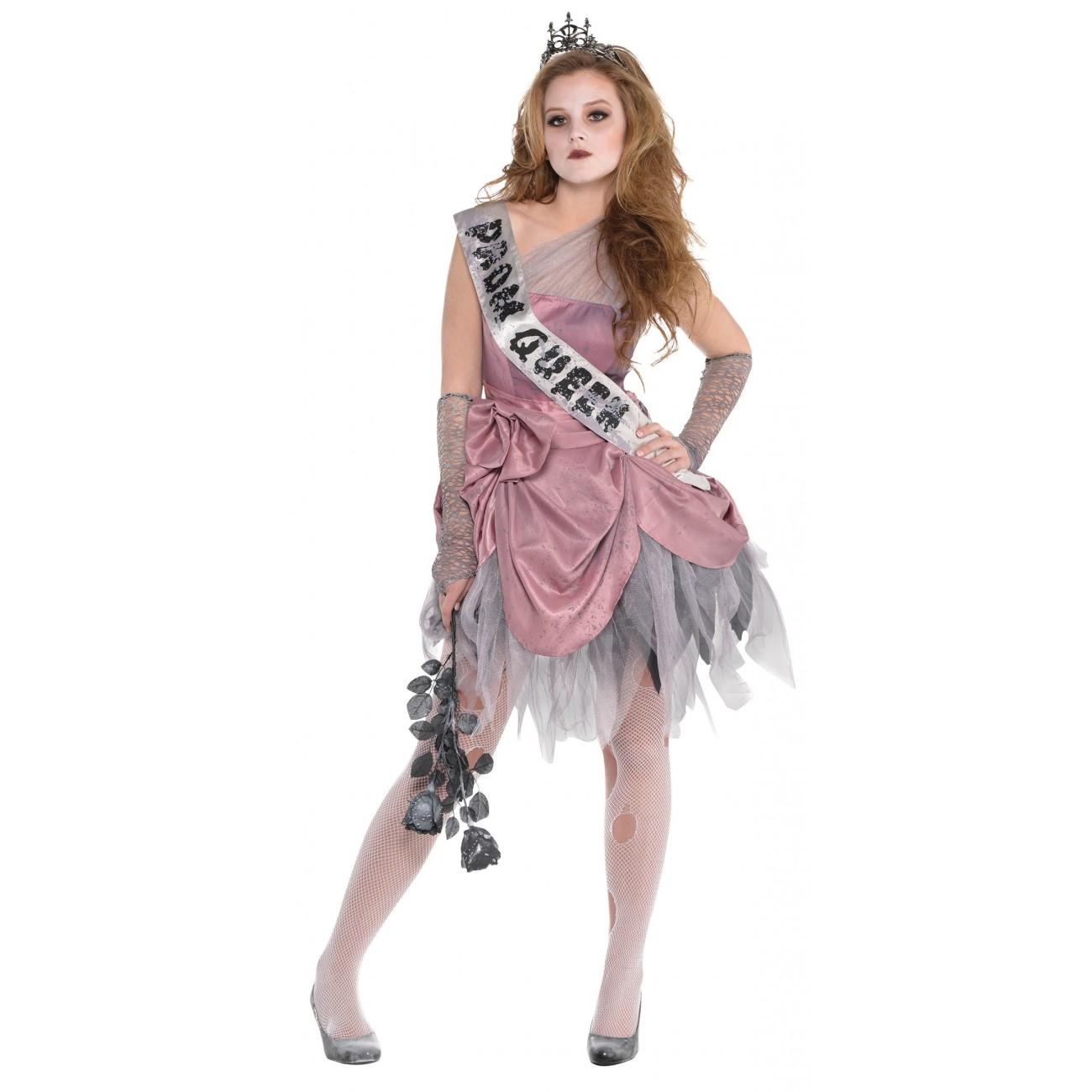 Zombie Queen - Tween Costume AMS TEEN SML (10-12)