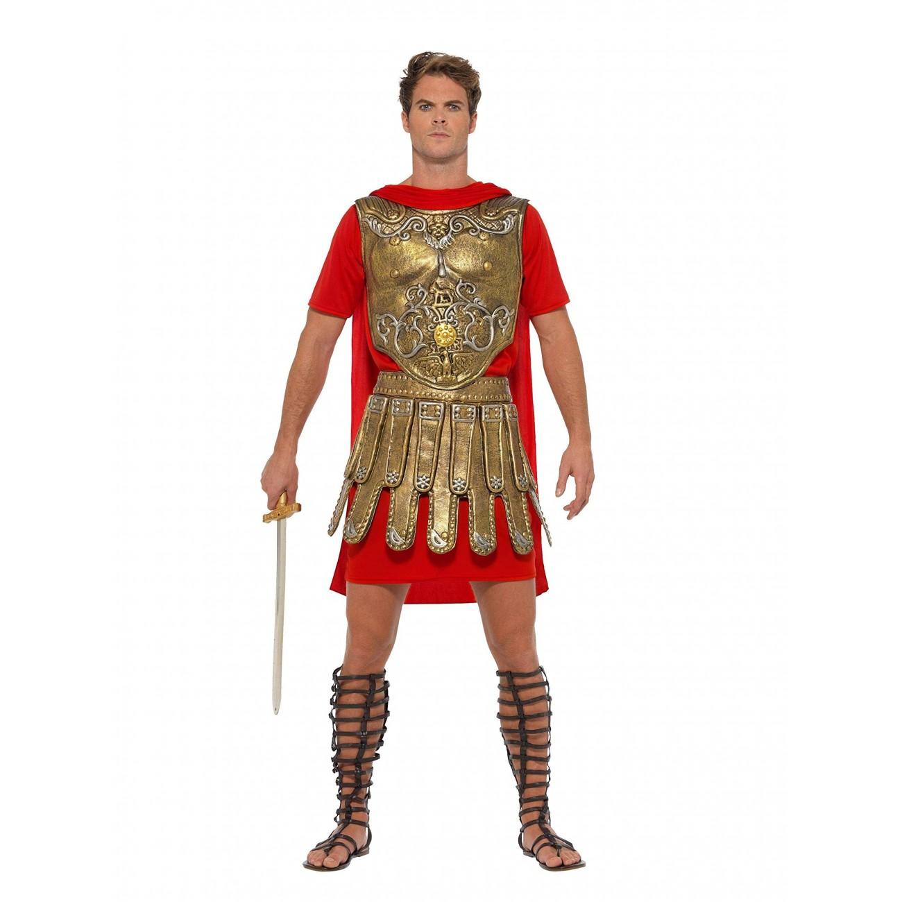 Smiffy's 40377M Disfraz de Gladiador Romano, Hombre