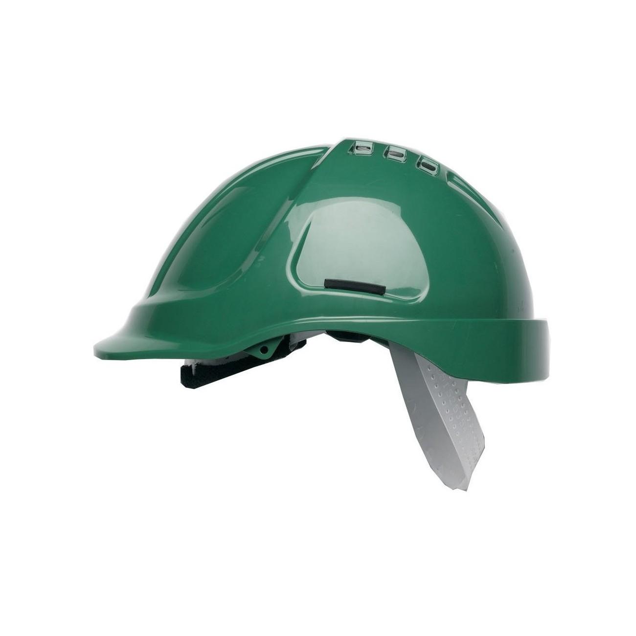 Scott Range HC600 - Casco con ventilación, color negro, verde, 1