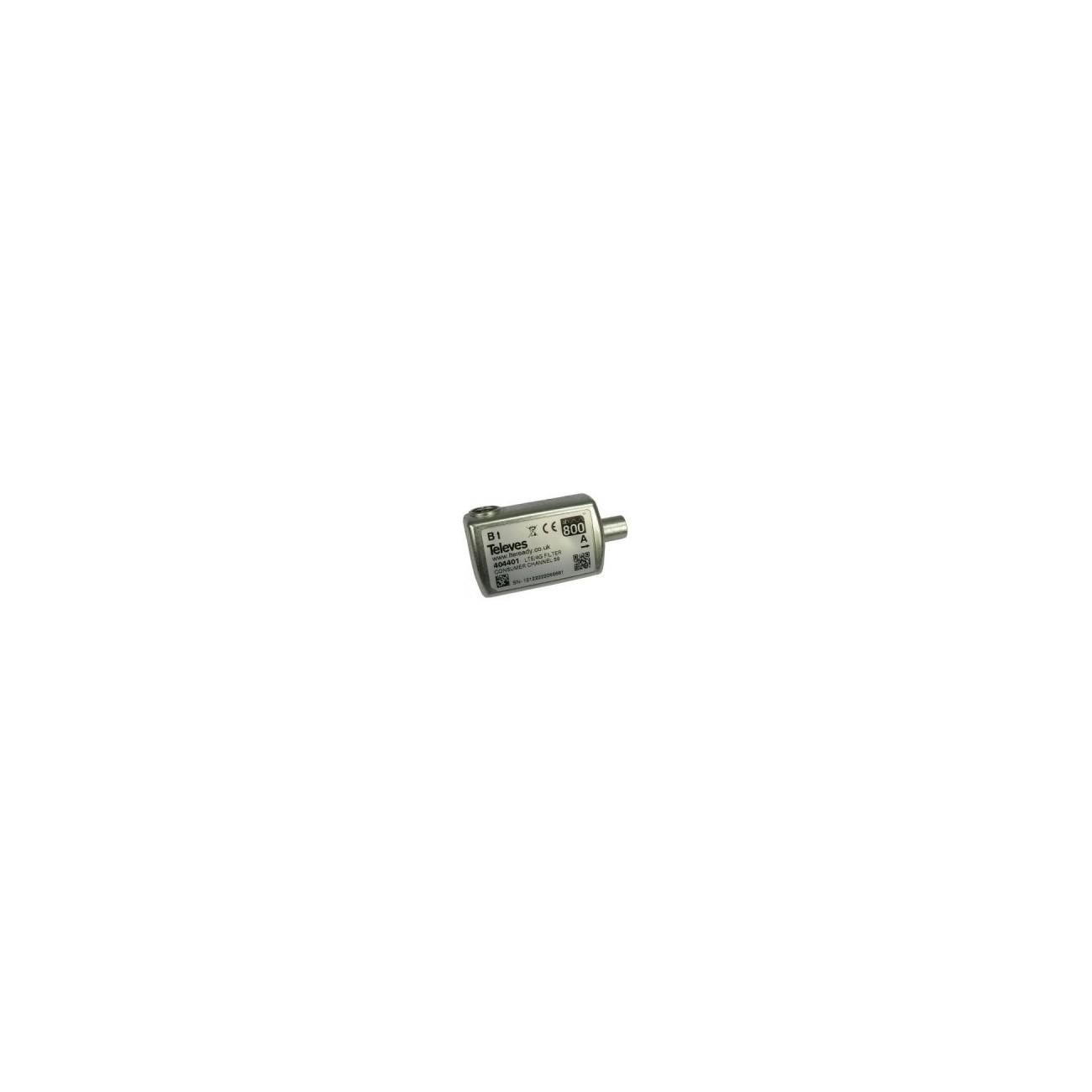 Televes 404411 - Filtro lte cei 470-774mhz c21-58 blister