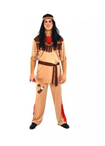 Aec cu030573/50 - 52 - Disfraz indio grande llama talla 50/52
