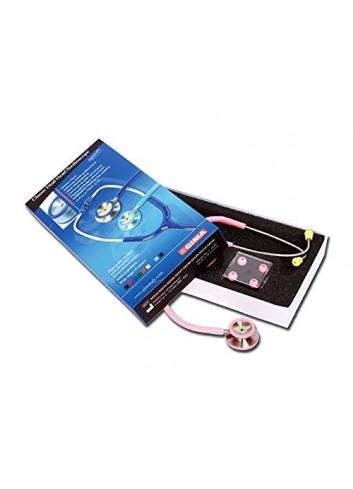 Gima - Estetoscopio - Modelo: Duofono Classic, Lira Rosa, 1