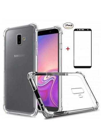 Funda Samsung Galaxy J6 Plus Ttimao Soft Transparente Silicona