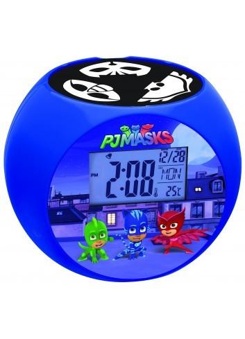 Lexibook - Despertador Digital, Azul (PJ Masks)