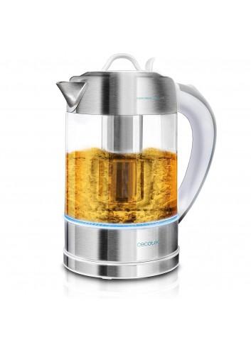 Cecotec Hervidor de Agua Eléctrico ThermoSense 370 Clear. 1,7
