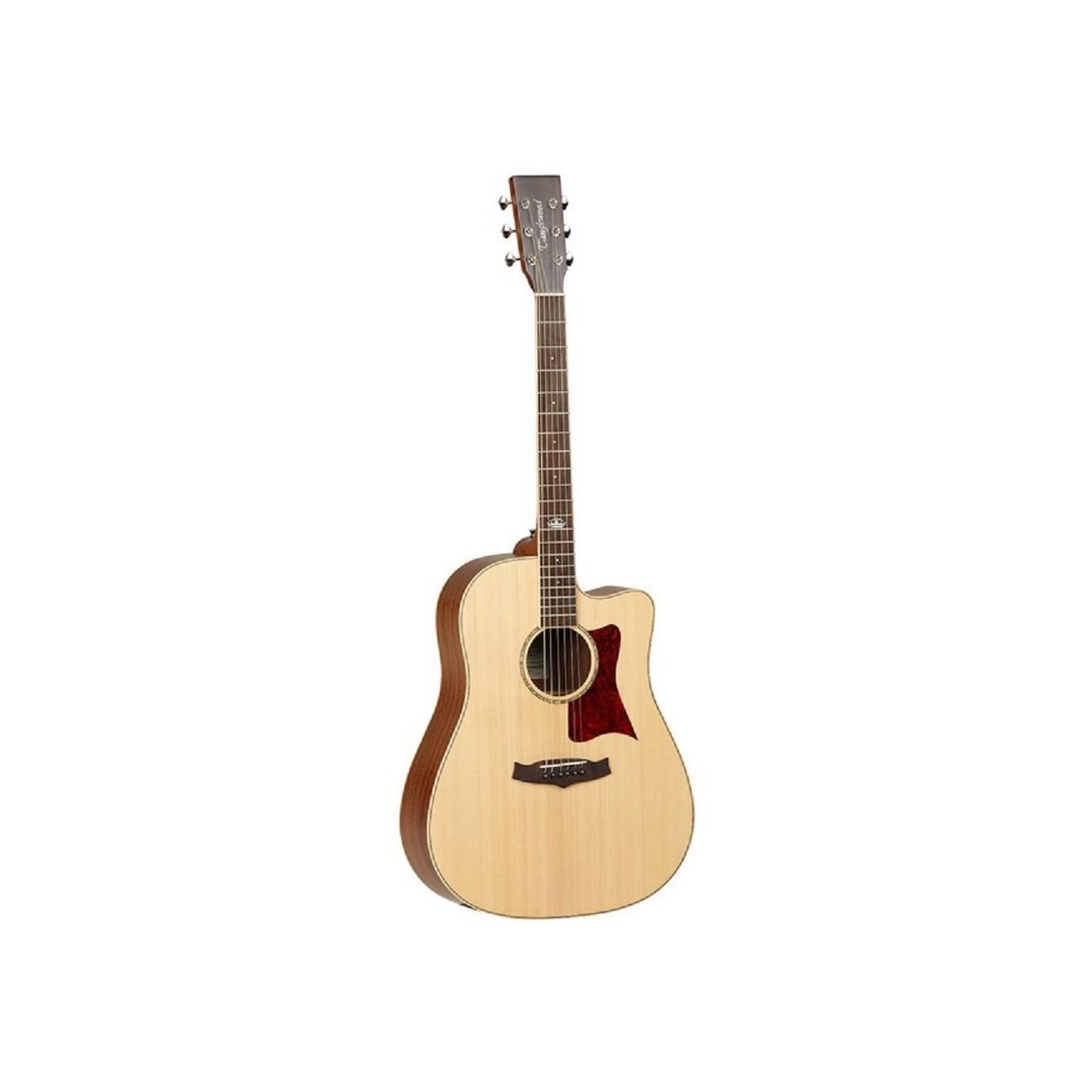 Tanglewood TW115SSCE - Guitarra acústica, acabado natural