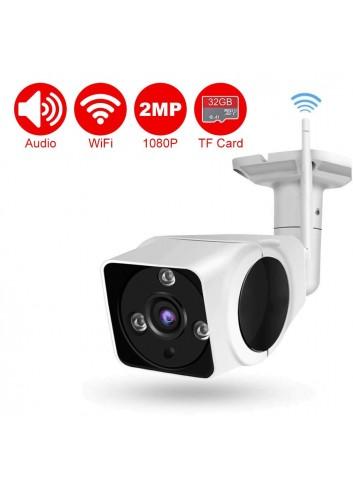 DEFEWAY 1080P Wireless WiFi IP Cámara de Seguridad Detector de