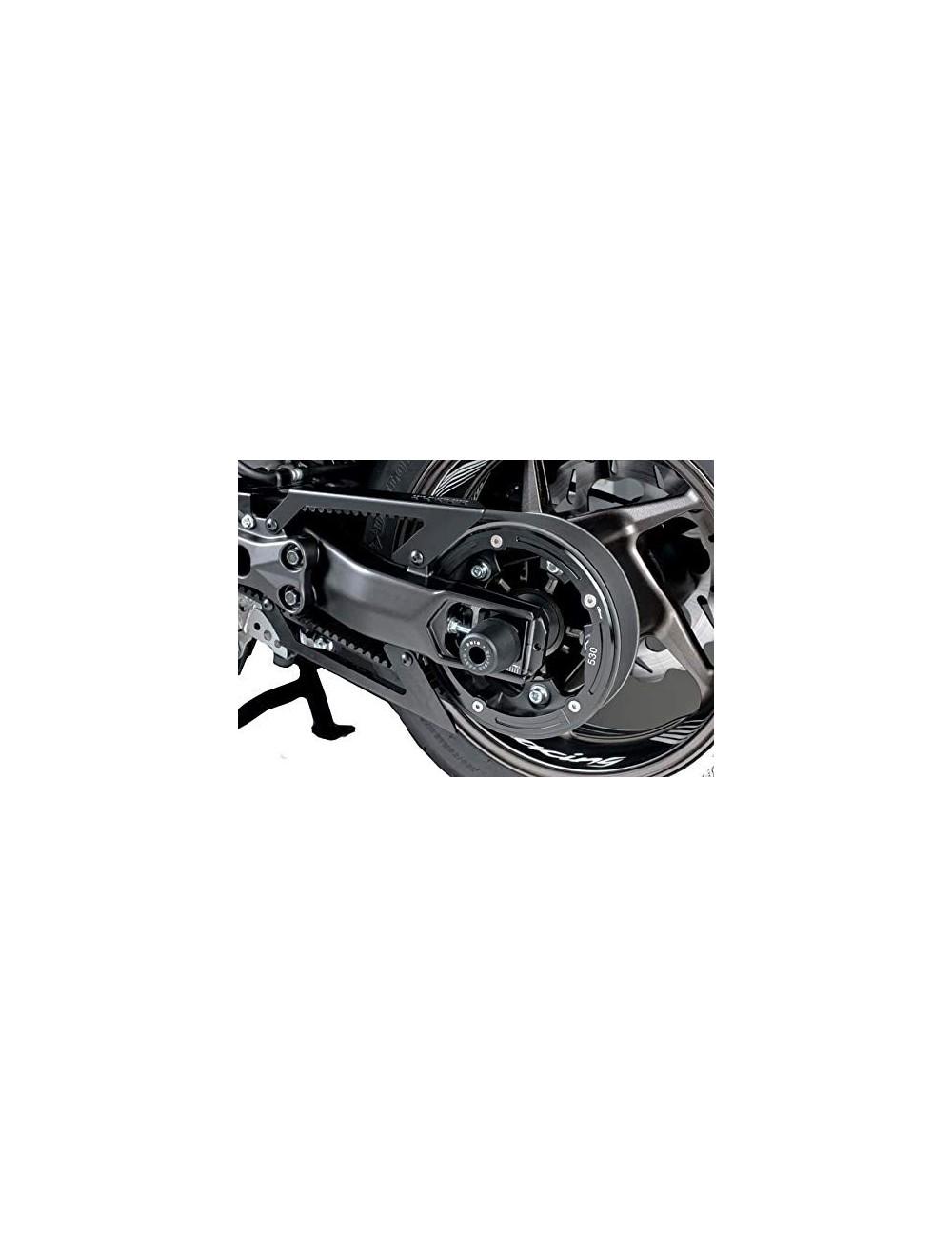 Negro Puig Cubrecorrea 9455N para Yamaha T-MAX 530//DX//SX 17
